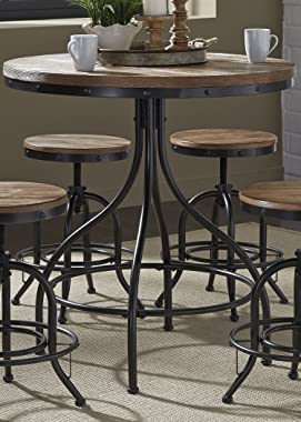 Liberty Furniture Industries Vintage Series Pub Table, W36 x D36 x H36, Metal