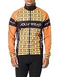 Jolly Wear Herren Fahrrad Winterjacke Funktions mit Winddichter Membran Tweed, O