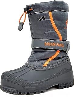 Dream Pairs Botas de Nieve Impermeables Calientes Piel Forradas Invierno Bota para Niño Niña
