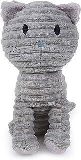 Petface Lu Lu Cord Squeak Dog Toy, Grey