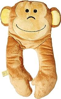 Go-Travel Kids Monkey Flat Neck Travel Pillow, Brown, 2698
