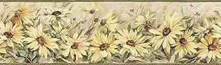 Chesapeake CCB2231 Country Regal Sunflowers Yellow Border