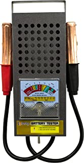 Bastex BT-100 6V/12 100 Amp Battery Load Tester with Heavy Duty Insulated Copper Clips..