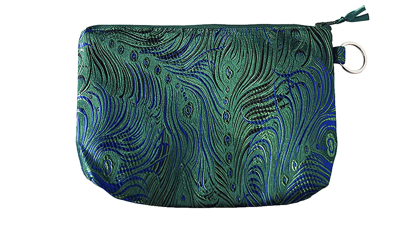 HiyaHiya Knitting Complete Accessory Gift Set in Brocade Case (Green Peacock)