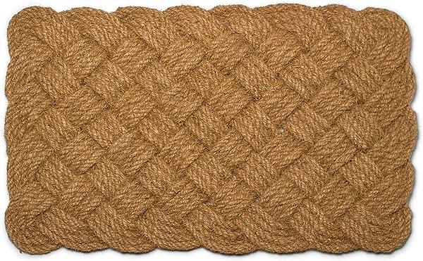 Abbott Collection Coir Woven Rope Doormat