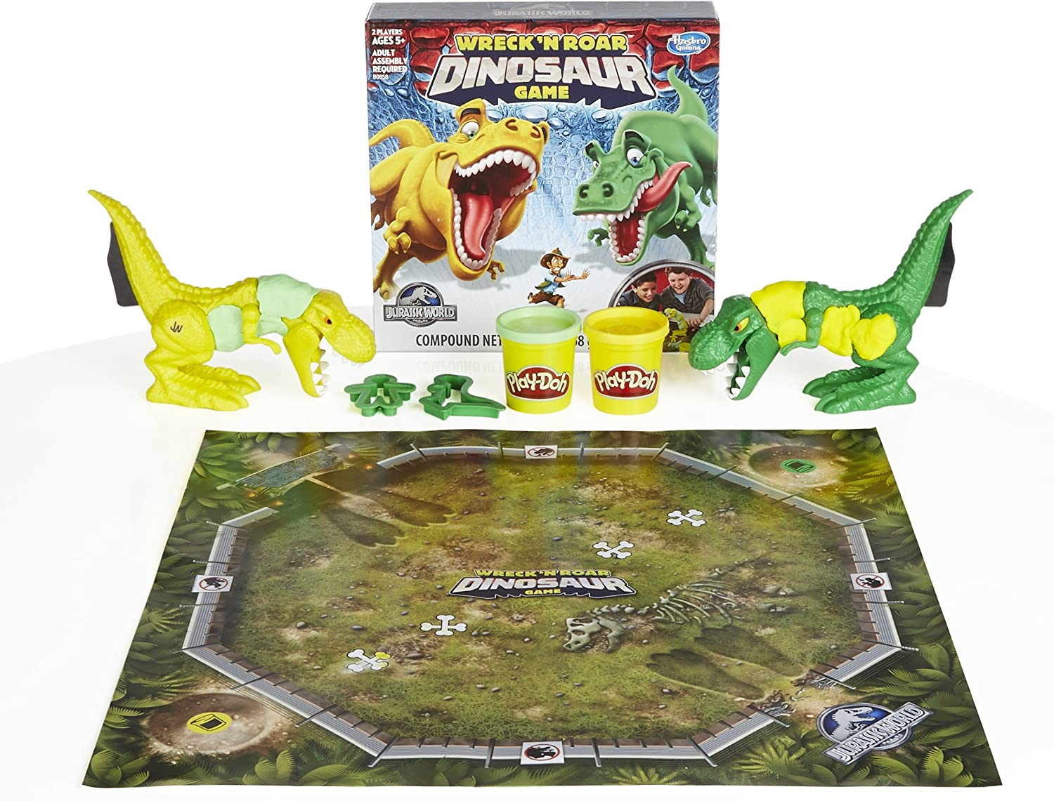 Jurassic World Wreck 'N Roar Dinosaur Game