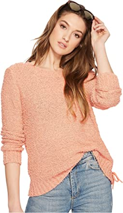 Jack by BB Dakota Suzanne Side Laced Tunic Sweater