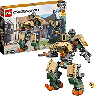 LEGO 6250958 Overwatch 75974 Bastion Building Kit, Overwatch Game Robot Action Figure, New 2019 (602 Pieces)