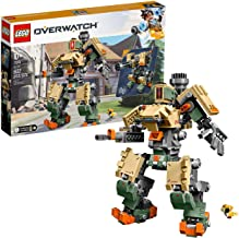 LEGO 6250958 Overwatch 75974 Bastion Building Kit, Overwatch Game Robot Action Figure (602 Pieces)