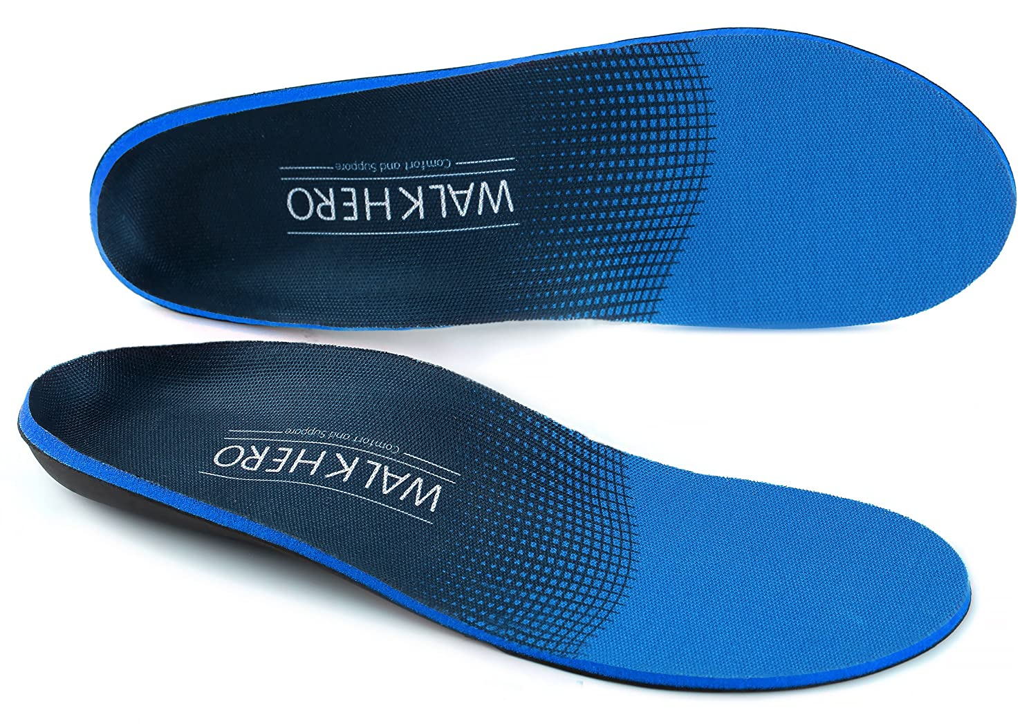 Plantar Fasciitis Feet Insoles Arch Supports Orthotics Inserts Relieve Flat Feet, High Arch, Foot Pain