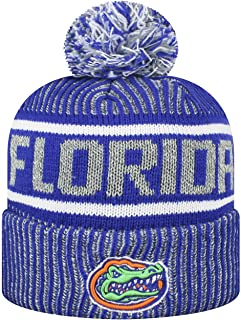 new concept 21a42 61576 Top of the World Men s NCAA Glacier Cuffed Knit Beanie Pom Hat