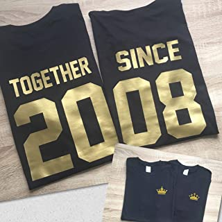 Best together since custom shirts Reviews