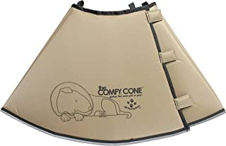 The Comfy Cone Pet Recovery Collar by All Four Paws, Extra Large, Tan,Xlarge 30 cm