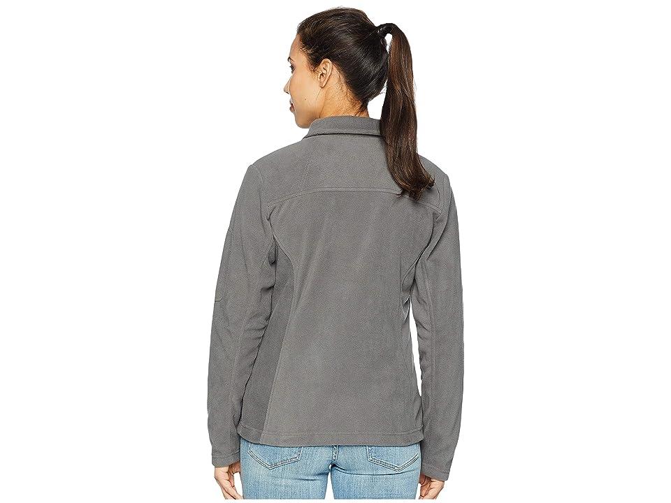 Columbia Fast Trektm II Full-Zip Fleece Jacket (Charcoal) Women