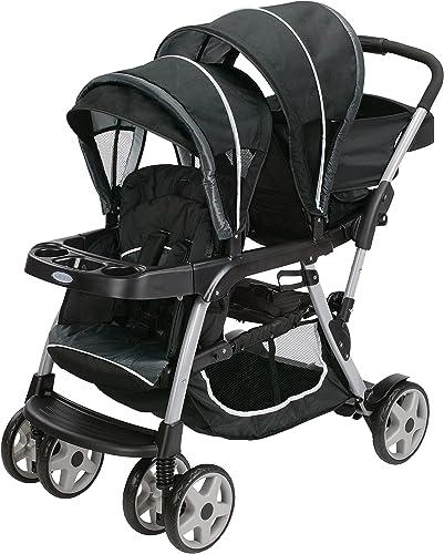 Graco Stroller Ready2 Grow Click Connect Gotham (Black/Gray)
