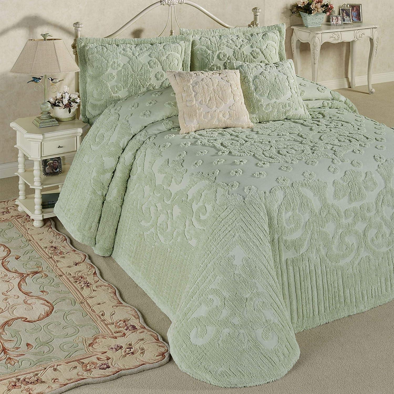 Touch of Class Laurent 本物 Grande Green 価格 交渉 送料無料 Set Bedspread Pale