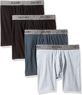 Hanes Men's U9BBB4 Boxer Briefs