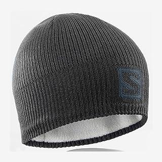 Salomon Logo Beanie, Berretto per Escursioni e Allenamenti U