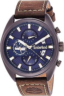 Timberland Reloj Analógico para de los Hombres de Cuarzo con Correa en Piel Genuina TBL.15640JLU/03