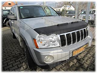HOOD BRA Front End Nose Mask for Jeep Grand Cherokee 2005-2010 Bonnet Bra STONEGUARD PROTECTOR TUNING