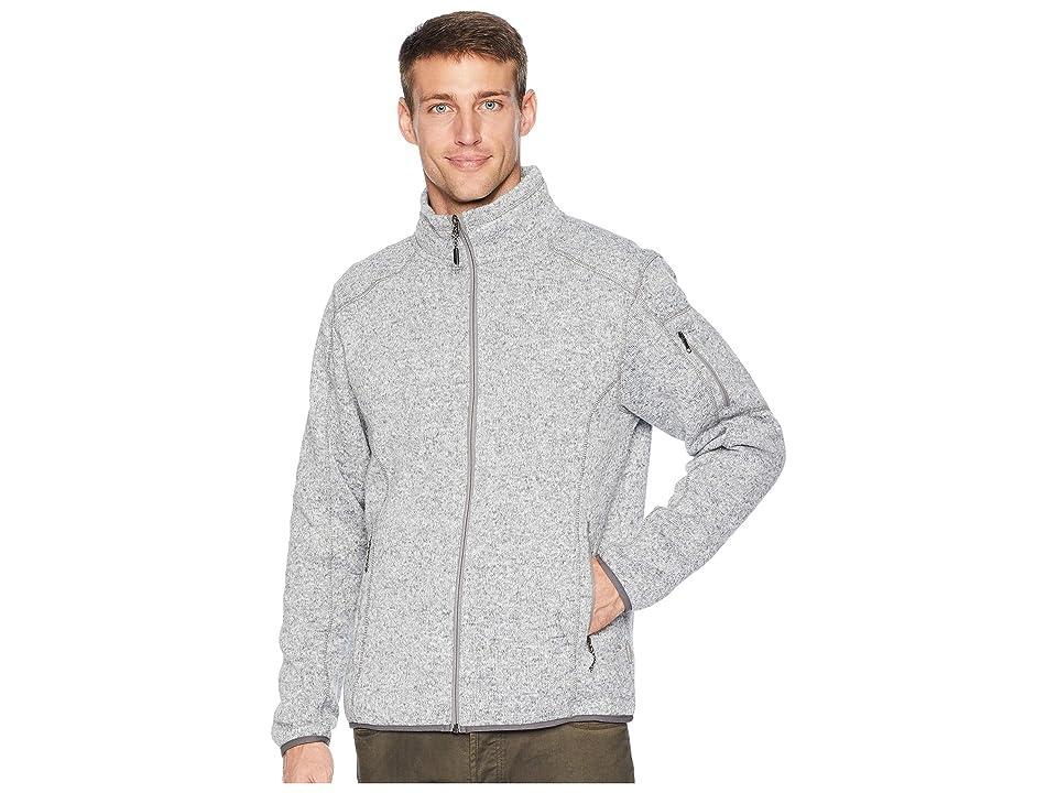 White Sierra Cloud Rest Sweater Fleece Jacket (Heather Gray) Men