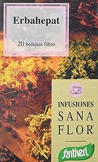 Santiveri Sanaflor Infusion Erbahepat 20 Bolsitas 400 g