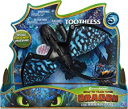 Dreamworks Dragons, Toothless Deluxe Dragon with Lights & Sounds, for Kids Aged 4 & Up