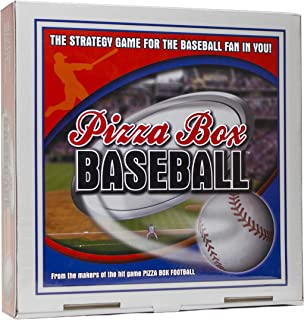 Reveal Entertainment Pizza Box Baseball Board Game