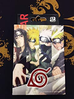 Naruto Anime Shippuden Character Playing Cards Standard Deck for Poker and Collectible Gifts