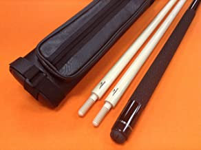 LONGONI Carom CUE Black Fox HPG with 2 SHAFTS & CASE
