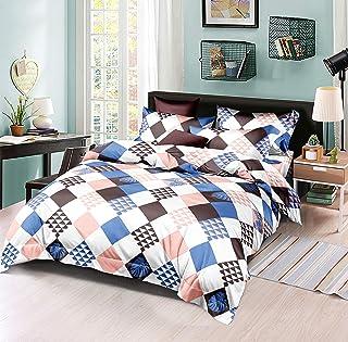 Flower Comforter 6Pcs Set King 240x260cm, AI1215K, Multicolor
