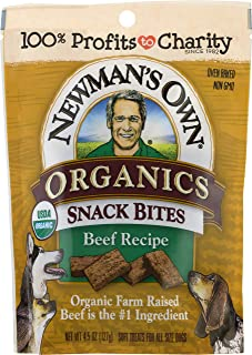 Newman's Own Organics Snack Bites for Dogs, 4.5-oz. (Pack of 8)