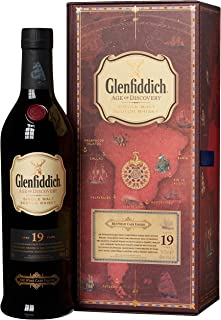 Glenfiddich 19 Years Old Age of Discovery 3rd Release Red Wine Cask Finish mit Geschenkverpackung Whisky 1 x 0.7 l