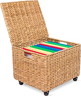 Best seagrass rolling file cabinet Reviews