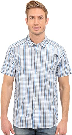 Short Sleeve Traverse Plaid Shirt