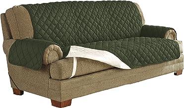 سيرتا   واقي الأثاث المقاوم للماء من الميكروسويد يناسب الأريكة حتى عرض 1.8 متر، قابل للغسل في الغسالة، لون الشوكولاتة