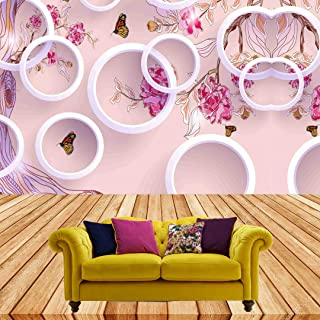 Color Solution 3D Wallpaper Wall Sticker for Home Decor, Living Room, Bedroom, Hall, Kids Room, Play Room(Self Adhesive Vi...