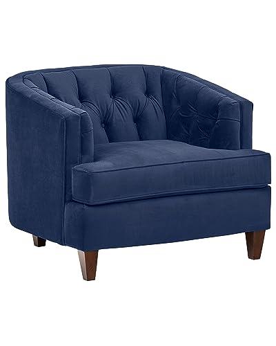 Navy Velvet Chair Amazon Com