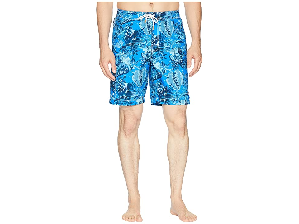 Tommy Bahama Baja Selva Shores Swim Trunk (Blue Spark) Men