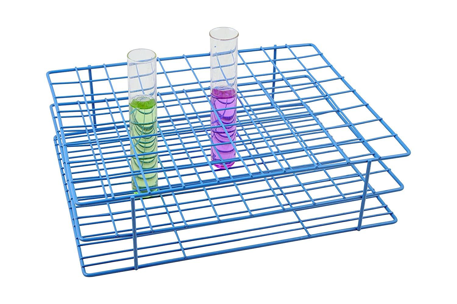 Blue Epoxy Coated Steel Wire Test Genuine Holes Tube 80 Dia Rack cheap Outer