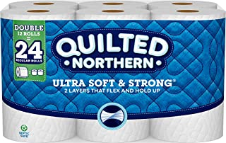 quilted northern ultra soft and strong 12 double rolls