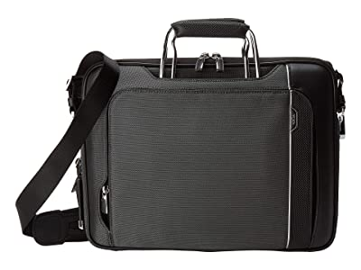 Tumi Arrive Hannover Slim Brief (Pewter) Briefcase Bags