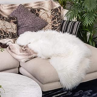 Best fur rug white Reviews