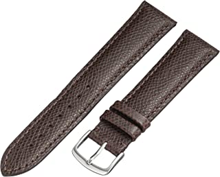 Hadley-Roma MS2045RA 160 16mm Leather Calfskin Black Watch Strap