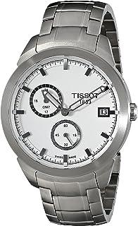 Tissot Men's TIST0694394403100 Titanium GMT Watch