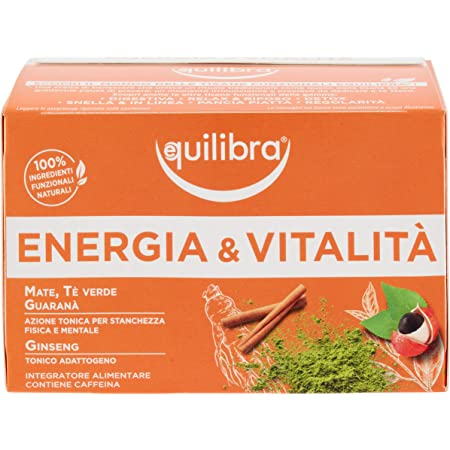 Equilibra Tisana Energia e Vitalità, 15 filtri