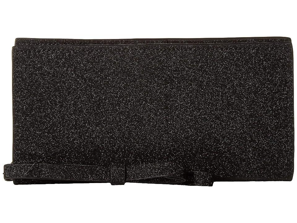 ZAC Zac Posen Earthette Slim Wristlet Wallet (Black) Wristlet Handbags