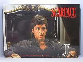 Scarface Gift Set 6 Pieces [3.4 oz. Toilette Spray +6.8 Body Lotion+.34 Oz. Miniature+Money Clip+Key Chain+Scarf] Men