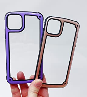 Blingy's Cases Compatible for iPhone 11 Pro (5.8 inch),2-Piece Combo Set Shockproof Jellybean Colored Transparent Clear Armor Style Protective Cases for iPhone 11 Pro 5.8