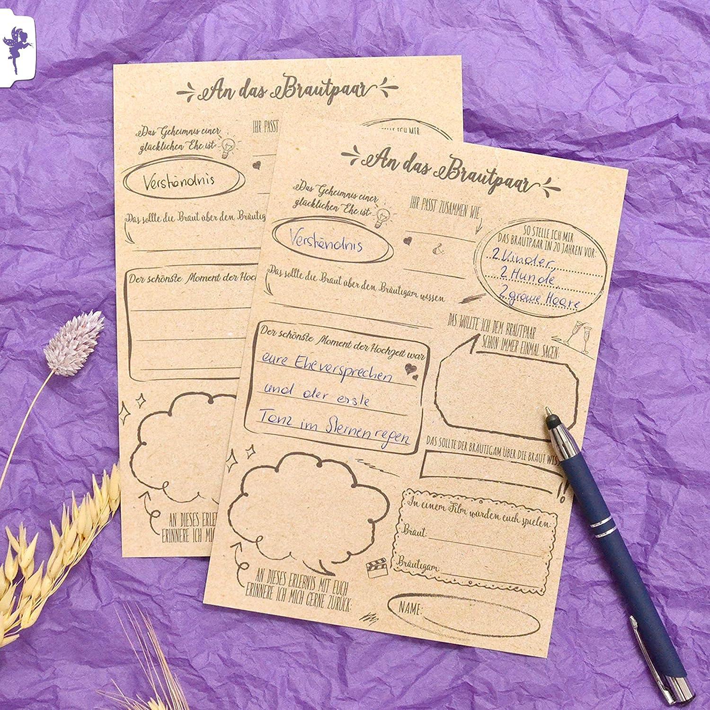Hochzeit lustige fragen gästebuch ♥ Gästebuch
